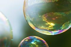 Пузырь мыла Стоковые Фотографии RF