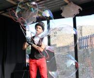 Пузырь на цирке Стоковое Фото