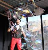 Пузырь на цирке Стоковые Изображения