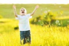 Пузырь ребенка Стоковая Фотография