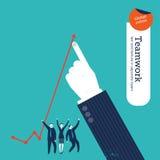 Пузырь речи мира сделанный от диалога предпринимателей Стоковая Фотография