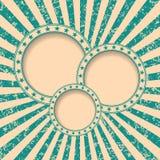 Пузырь речи на абстрактной предпосылке Grunge Стоковые Фотографии RF