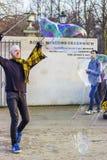 Пузыр-делать клоуна Стоковые Фото