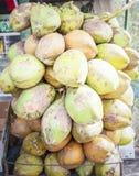 Пуки кокосов для продажи Стоковое Изображение RF