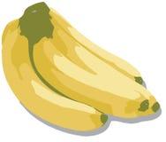 пук банана иллюстрация штока