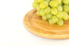 Пук белых виноградин Стоковое Фото