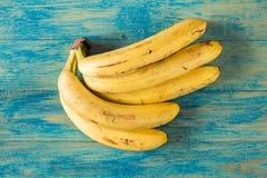 Пук больших зрелых бананов Стоковая Фотография RF