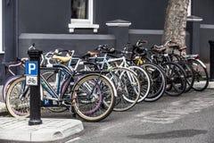 Пук велосипедов стоковые фото