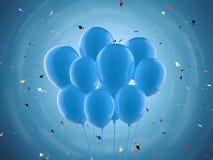 Пук воздушных шаров Стоковое Изображение RF
