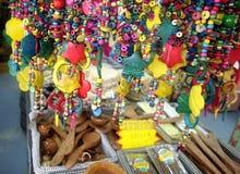 Пук деревянных шариков для сувениров Стоковые Фотографии RF