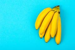 Пук зрелого сладостного банана младенца Стоковое фото RF
