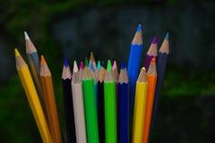 Пук карандашей цвета Стоковое Фото