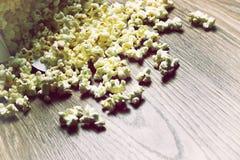 Пук коробки попкорна Стоковое Фото