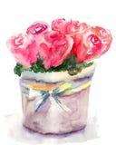 Пук красных роз Стоковые Изображения RF
