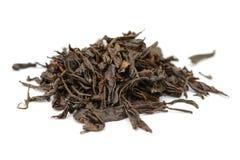 Пук листьев черного чая стоковое фото