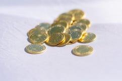 Пук монеток стоковое изображение