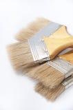 Пук новых щеток для красить и красить Стоковое Фото