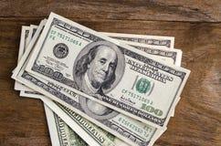 Пук долларов США Стоковые Фотографии RF