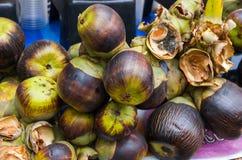 Пук плодоовощей ладони пальмиры Стоковые Изображения
