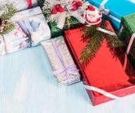 Пук различных подарочных коробок Стоковая Фотография RF