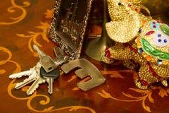 Пук различной концепции ключей для свойства и оборачиваемость реальной собственности Стоковая Фотография RF