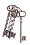 Пук старых ключей Стоковые Фотографии RF
