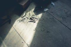 Пук старых ногтей Стоковые Фото
