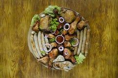 Пук сырого мяса Стоковая Фотография RF