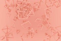 Пук треугольника или квадрата, летания, блокировать, для текстуры дизайна & предпосылки r бесплатная иллюстрация