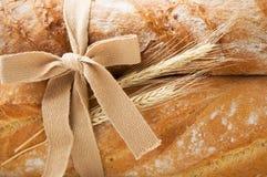 Пук ушей свежего хлеба и пшеницы Стоковое фото RF