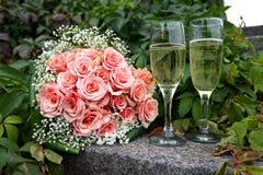 пук цветет венчание Стоковые Фото