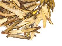 Пук glabra Glycyrrhiza солодки на белой предпосылке бесплатная иллюстрация