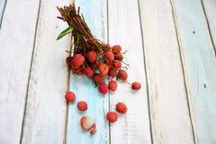 Пук lychee Стоковые Изображения