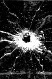 пулевое отверстие иллюстрация вектора