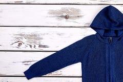Пуловер мальчиков с капюшоном Стоковые Изображения RF