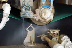 пульпа стана машины fourdrinier бумажная Стоковые Изображения RF