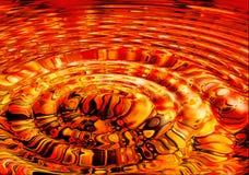 пульсации лавы жидкие Стоковые Фото