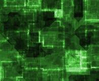 пульсация зеленой силы иллюстрация вектора