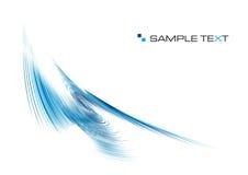 пульсация сини предпосылки стоковая фотография rf