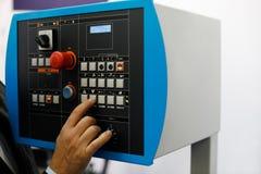 Пульт управления автоматизированной машины Стоковые Изображения