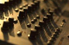 Пульт управления синтезатора Стоковые Фото