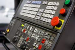 Пульт управления современной машины CNC Стоковые Фото