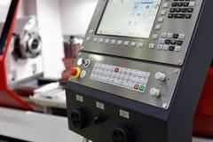 Пульт управления центра CNC подвергая механической обработке Стоковое Изображение RF