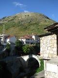 000 200 1993 1994 пуль гражданский воюя herzegovina Боснии продырявят убитые раковины ражей периода mostar к войне стены следов Стоковое Изображение RF
