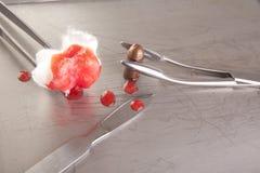 пуля крови повязки Стоковые Фотографии RF