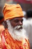 Пуна, Индия - July 11, 2015: Индийский шалфей индусского Стоковая Фотография RF