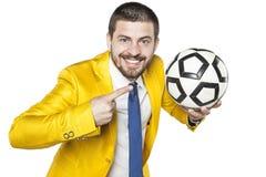 Пункты менеджера на шарике Стоковые Изображения RF