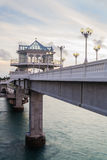 Пункт взгляда моста Sarasin, Phang Nga стоковое изображение