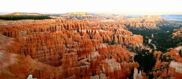 Пункт воодушевленности каньона Bryce Стоковые Изображения RF