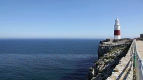 Пункт Гибралтар Европы акции видеоматериалы